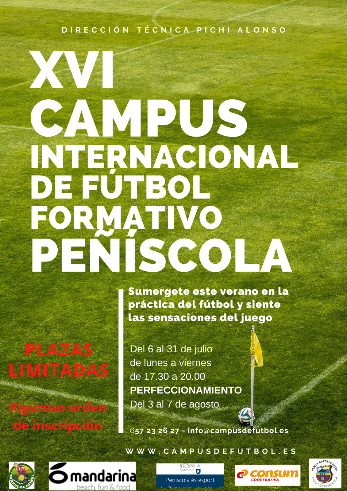 XVI Campus Internacional de Fútbol Formativo de Peñíscola